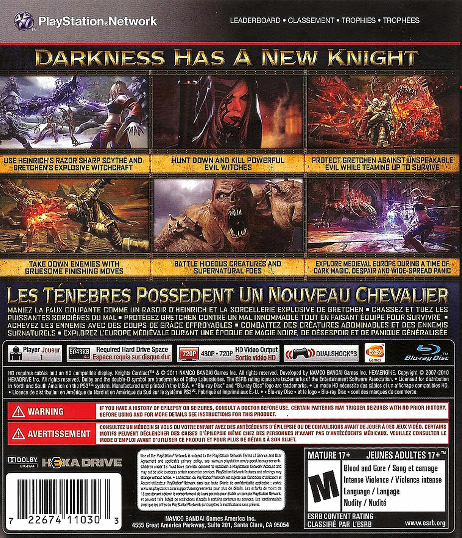Knights Contract PS3 backHQ (BLUS30582)
