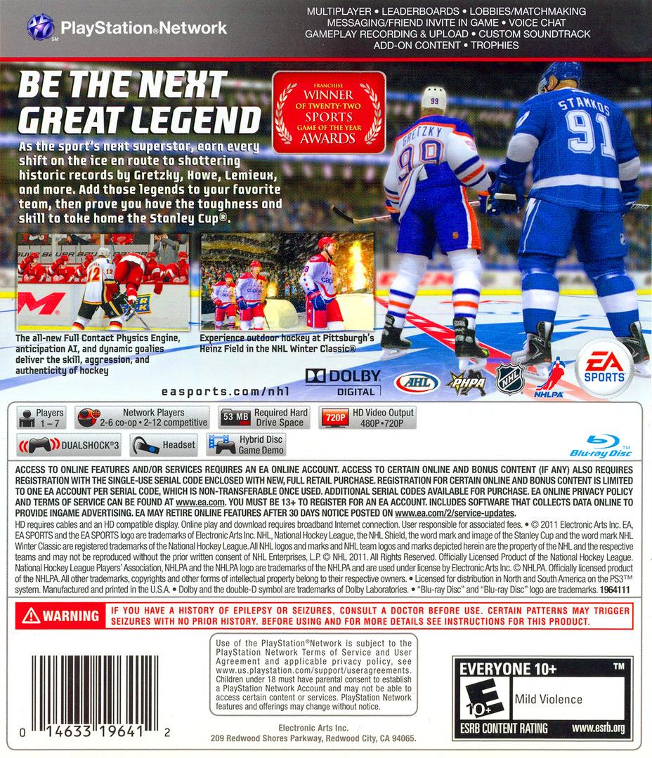 NHL 12 PS3 backHQ (BLUS30791)