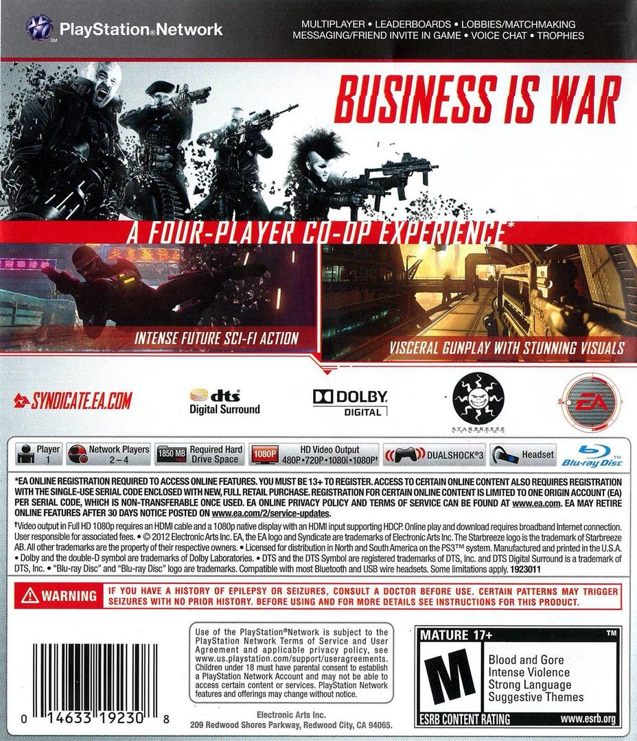 Syndicate PS3 backHQ (BLUS30804)