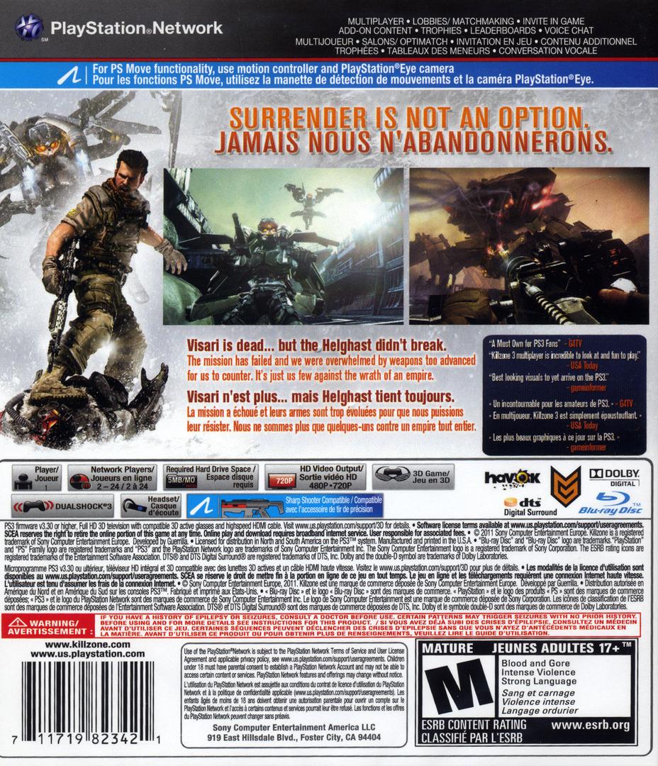 Killzone 3 PS3 backHQ2 (BCUS98234)