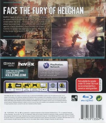 Killzone 2 PS3 backM (BCES00081)