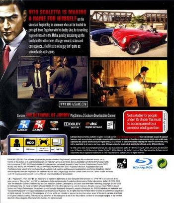 Mafia II PS3 backM (BLES01166)