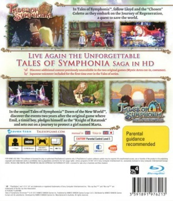Tales of Symphonia Chronicles PS3 backM (BLES01864)