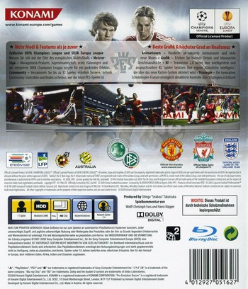 Pro Evolution Soccer 2010 PS3 backM (BLES00689)