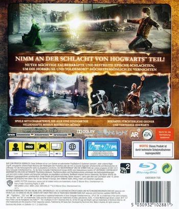 Harry Potter und die Heiligtümer der Todes - Teil 2 PS3 backM (BLES01307)