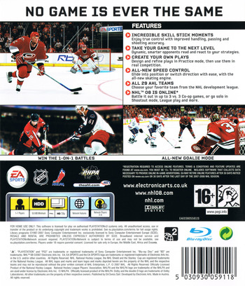 NHL 08 PS3 backM (BLES00118)