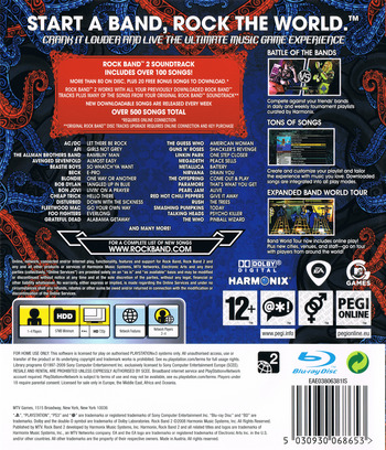 Rock Band 2 PS3 backM (BLES00385)