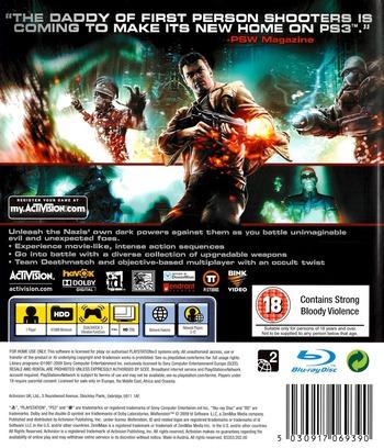 Wolfenstein PS3 backM (BLES00564)