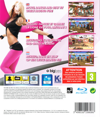 My Body Coach 2 PS3 backM (BLES01218)