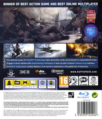 Battlefield 3 PS3 backM (BLES01275)