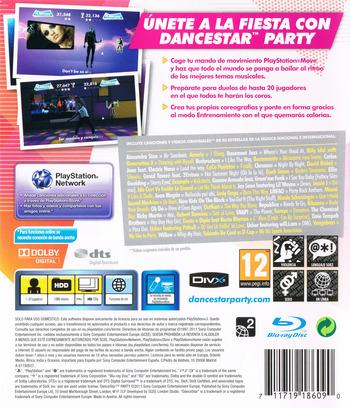 DanceStar Party PS3 backM (BCES01361)