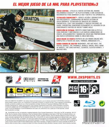 NHL 2K7 PS3 backM (BLES00033)