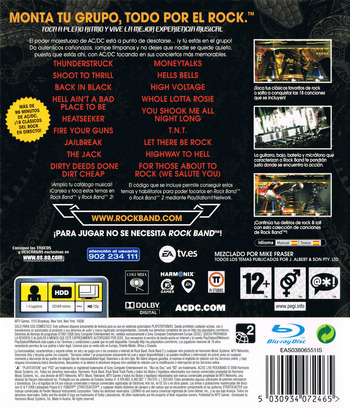 AC/DC Live: Rock Band PS3 backM (BLES00453)