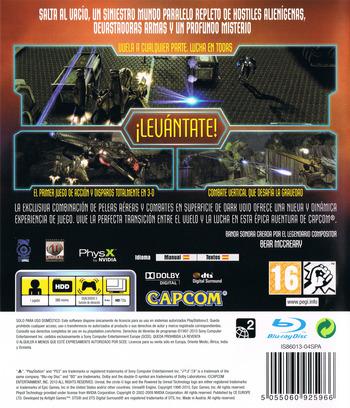 Dark Void PS3 backM (BLES00723)