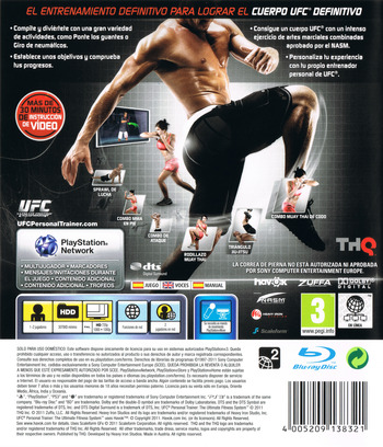 UFC Personal Trainer PS3 backM (BLES01170)