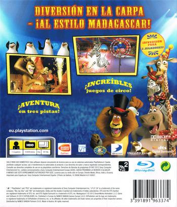 Madagascar 3: De Marcha por Europa PS3 backM (BLES01624)