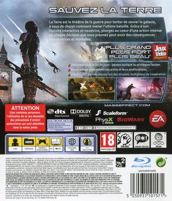 Mass Effect 3 PS3 backM (BLES01462)