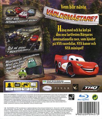 Bilar: Bärgarns Internationella Race PS3 backM (BLES00162)