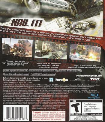 Stuntman: Ignition PS3 backM (BLUS30073)