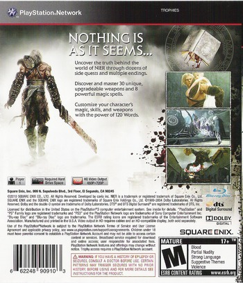 Nier PS3 backM (BLUS30481)
