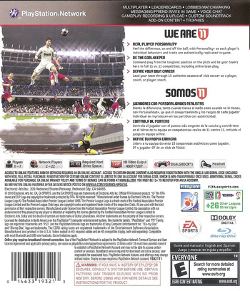FIFA Soccer 11 PS3 backM (BLUS30630)