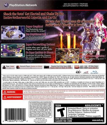 Disgaea 4: A Promise Unforgotten PS3 backM (BLUS30727)