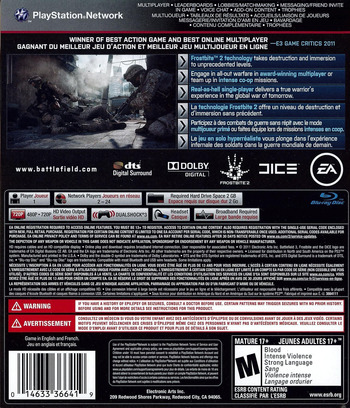 Battlefield 3 PS3 backM (BLUS30762)