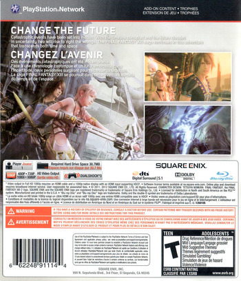Final Fantasy XIII-2 PS3 backM (BLUS30776)