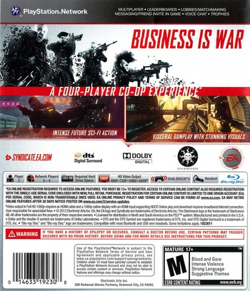 Syndicate PS3 backM (BLUS30804)