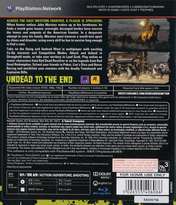 PS3 backM (BLAS50296)