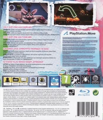 LittleBigPlanet 2 PS3 backM (BCES00850)