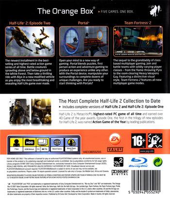 The Orange Box PS3 backM2 (BLES00153)