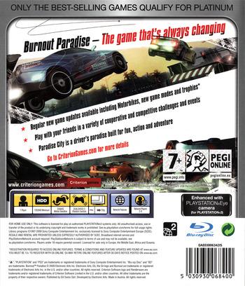 Burnout Paradise PS3 backMB (BLES00073)