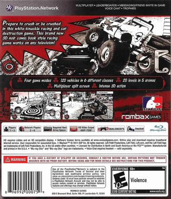 Mayhem PS3 backMB (BLUS30694)