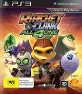Ratchet & Clank: All 4 One PS3 cover (BCES01141)