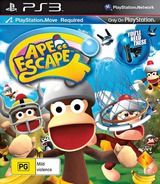 Ape Escape PS3 cover (BCES01186)