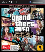 Grand Theft Auto: Episodes from Liberty City PS3 cover (BLES00887)