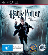 Harry Potter and the Deathly Hallows - Part 1 PS3 cover (BLES00931)