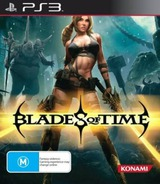 Blades of Time PS3 cover (BLES01395)