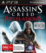 Assassin's Creed: Revelations PS3 cover (BLES01467)
