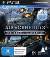 Air Conflicts: Pacific Carriers PS3 cover (BLES01604)