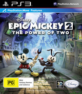 Disney Epic Mickey 2: The Power of Two PS3 cover (BLES01627)