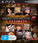 Dead or Alive 5 Ultimate PS3 cover (BLES01907)
