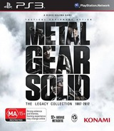 Metal Gear Solid: The Legacy Collection PS3 cover (BLES82001)