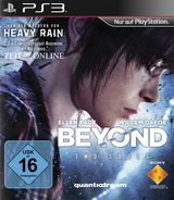 Beyond: Two Souls PS3 cover (BCES01121)