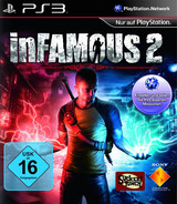 inFamous 2 PS3 cover (BCES01229)