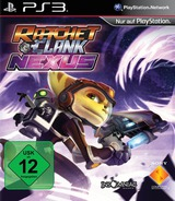 Ratchet & Clank: Into the Nexus PS3 cover (BCES01949)