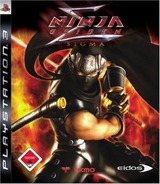 Ninja Gaiden Sigma PS3 cover (BLES00072)