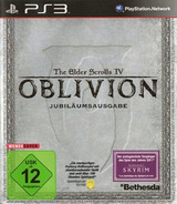 The Elder Scrolls IV: Oblivion - Game of the Year Edition PS3 cover (BLES00163)