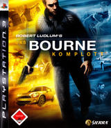 Robert Ludlum's The Bourne Conspiracy PS3 cover (BLES00250)